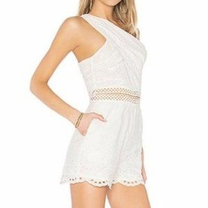 Endless Rose Eyelet Romper